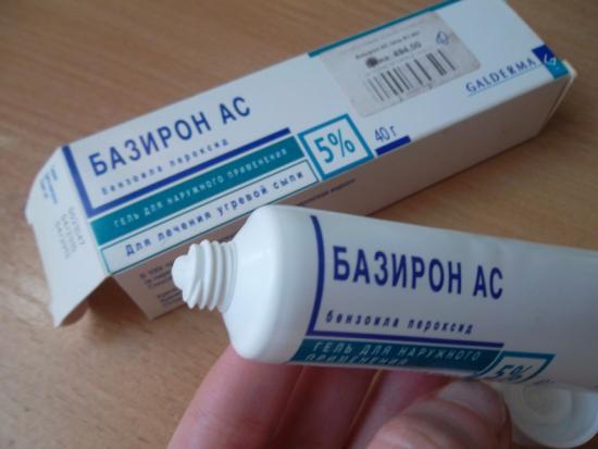 Использование Базирона АС